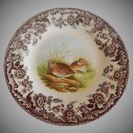 Spode Woodland  Quail Salad Plate