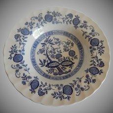 Myott Meakin Blue Onion Soup Bowl