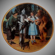 1988 Wizard Of Oz 50th Anniversary Plate
