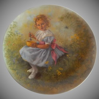 Little Miss Muffet Plate by Reco