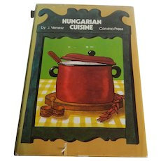 Hungarian Cuisine Cookbook by J. Venesz
