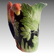 Fitz & Floyd  Jungle Parrot Pitcher
