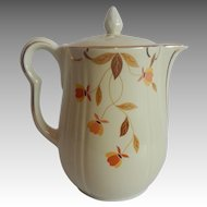 Autumn Leaf Coffee Pot by Hall China