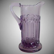 Vintage Purple Glass Pitcher