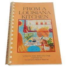 From A Louisiana Kitchen Cook Book