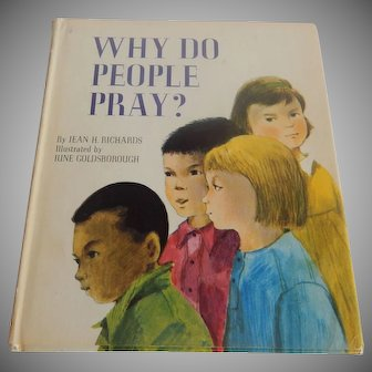 Why Do People Pray Children's  Book