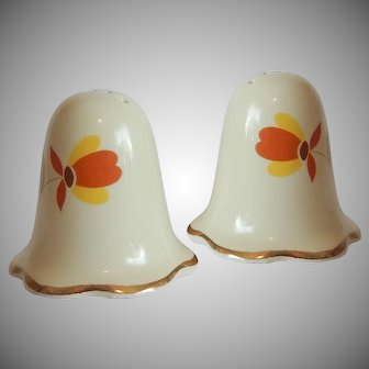 Hall China Jewel Salt and Pepper Shakers