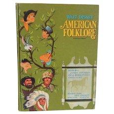 Walt Disney American Folklore Book