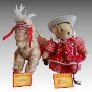 The Vanderbear Traveling Wild West Show Muffy and Oatsie