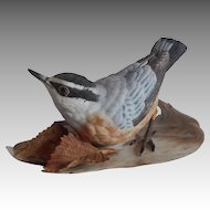 Lenox Red-Breasted Nuthatch Bird Figurine