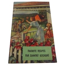 Favorite Recipes For Country Kitchens Cook Booklet