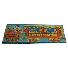 Part Of Raggedy Ann 1930 Railroad Train Puzzle