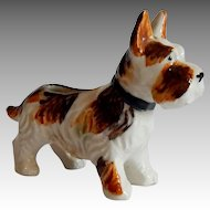 Scotty Dog  Ceramic Figurine Japan