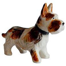 Scotty Dog  Ceramic Figurine Japan