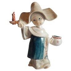 Simonetti Depose Italy Nun Figurine