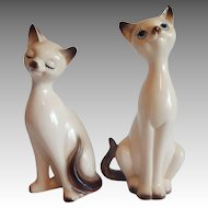 Two Choice Imports Siamese Cat Figurines