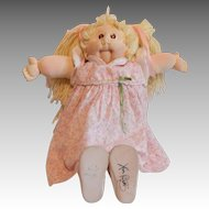 Soft Sculpture Cabbage Patch Doll