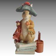 Beatrix Potter Benjamin Bunny Figurine