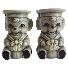 Sailor Mice Salt and Pepper Shakers