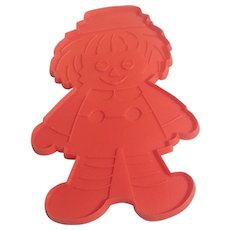 Jumbo Raggedy Andy Cookie Cutter