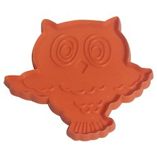 Hallmark Cards Halloween Owl Cookie Cutter 1973