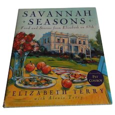 Savannah Seasons Cookbook by Elizabeth Terry