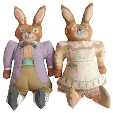 Two Graphics International Bunny Rabbits