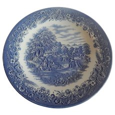 Currier & Ives Harvest Churchill Dinner Plate
