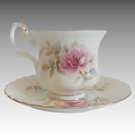 Royal Albert Demitasse Tea Cup And Saucer Danbury Mint