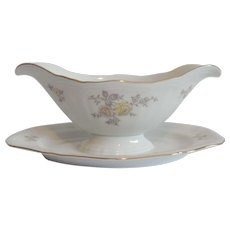 Johann Haviland Bavaria Germany Chippendale Regency Sauce Boat