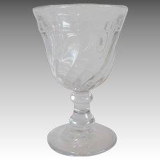 Fostoria Glass Colony Wine Goblet Stem