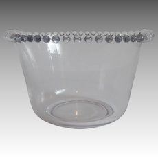 Imperial Candlewick Crystal Ice Tub