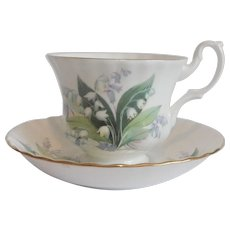 Royal Albert Summertime Series Cheverell Cup and Saucer