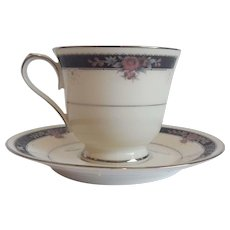 Noritake China Etienne Cup And Saucer