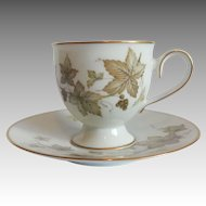 Trailing Ivy Cup And Saucer Set by Noritake