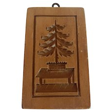 Made In Switzerland Christmas Tree Springerle Cookie Mold