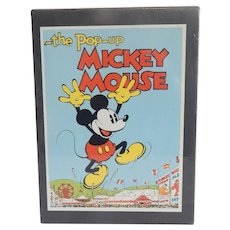 The Pop-Up  Mickey Mouse And Minnie Mouse Collectors Edition