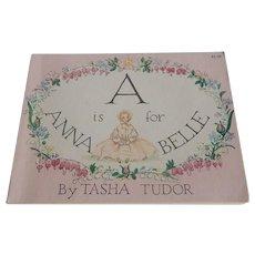 A Is For Anna Belle by Tasha Tudor