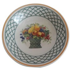 Villeroy & Boch Basket Soup / Cereal Bowl