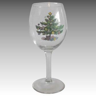 Eight Nikko Happy Holidays Goblets