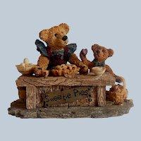 Boyds Bear Sweetie Pies Bearstone Figurine