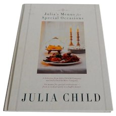 Julia's Menus for Special Occasions by Julia Child