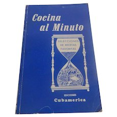 Cocina Al Minuto Cuban Cookbook In Spanish