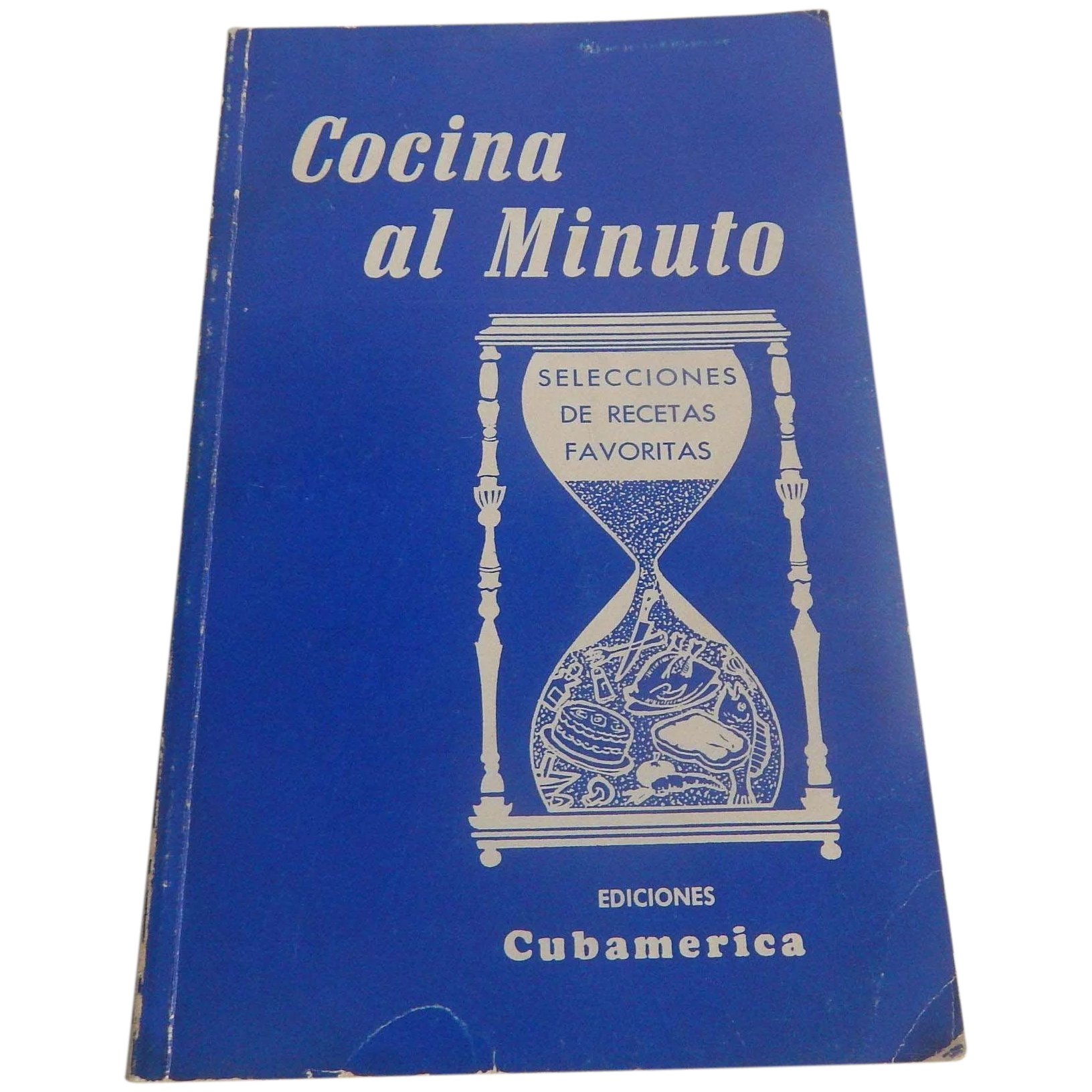 Cocina Al Minuto Cuban Cookbook In Spanish Colemans Collectibles