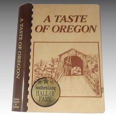 A Taste Of Oregon Cook Book