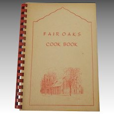 Fair Oaks Cook Book