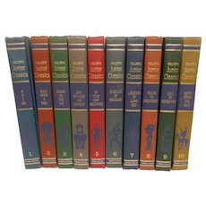 Collier's Junior Classics Complete Set Of 10 Books