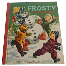 Little Golden Book Frosty The Snow Man