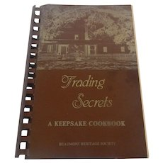 Trading Secrets A Keepsake Cookbook