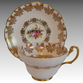 Foley Porcelain Tea Cup and Saucer